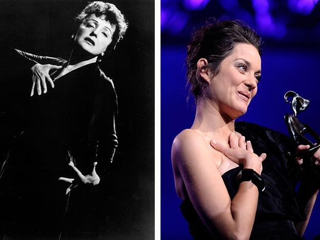 Marion Cotillard was phenomenal in her Oscar winning portrayal of singer Edith Piaf.