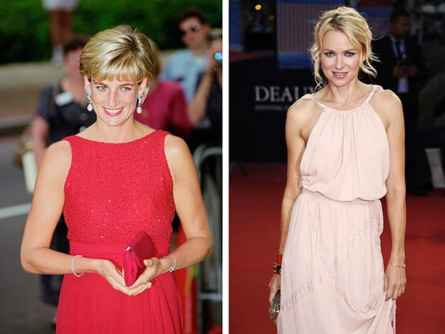 Naomi Watts played the late Princess Diana in the 2013 movie Diana.