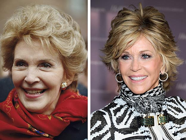 Jane Fonda played former first lady Nancy Reagan in 2013's The Butler.