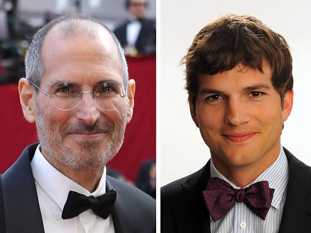 Ashton Kutcher took on the role of Steve Jobs in the 2013 biopic Jobs.
