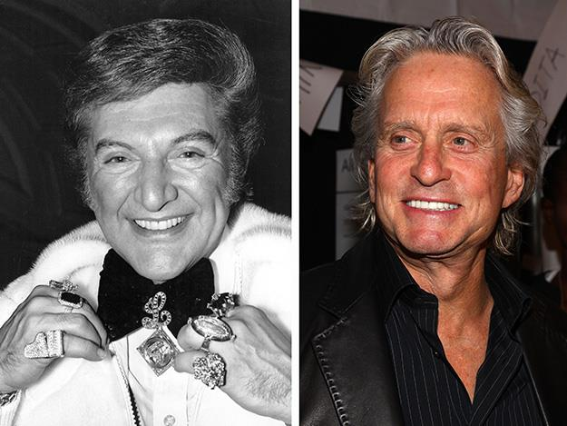 In 2013's biopic, Behind the Candelabra, Hollywood heavy weight Michael Douglas took on the role of Liberace.
