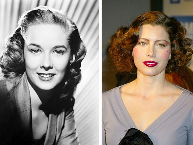 Jessica Biel went old Hollywood to play American film legend Vera Miles in Hitchcock.