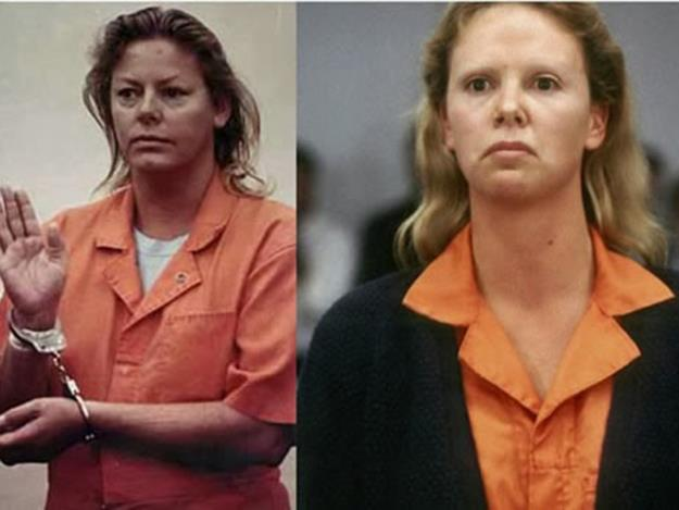 Charlize Theron won the Best Actress Oscar in 2003 for her chilling portrayal of real life serial killer Aileen Wuornos in the 2003 biopic, Monster.