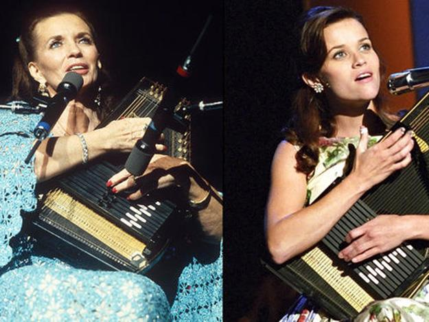 Reese Witherspoon won the Best Actress Oscar for her portrayal of June Carter Cash in 2005's Walk the Line.