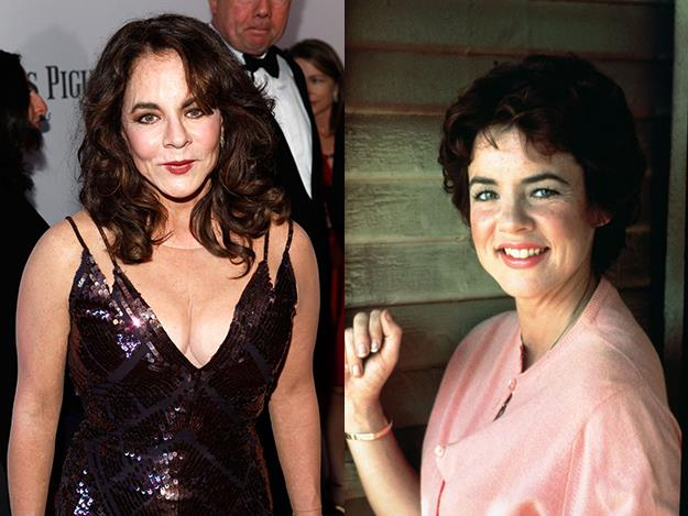 Stockard Channing pulled off an 16-year age difference. The actress was 34 when she played 18-year-old Rizzo in the 1978 musical Grease.