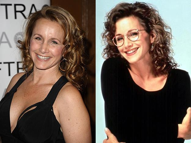 At 29, Gabrielle Carteris, who played 16-year-old schoolgirl Andrea Zuckerman, was 13 years older than her Beverly Hills 90210 character.