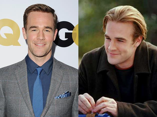 James Van Der Beek says he came close to not being cast on Dawson's Creek because he looked too old. The actor played 15-year-old Dawson Leery when he was actually 20.