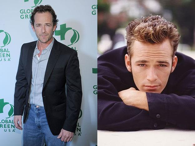 TV's ultimate bad boy 17-year-old Dylan McKay of Beverly Hills 90210 was actually played by 25-year-old Luke Perry.