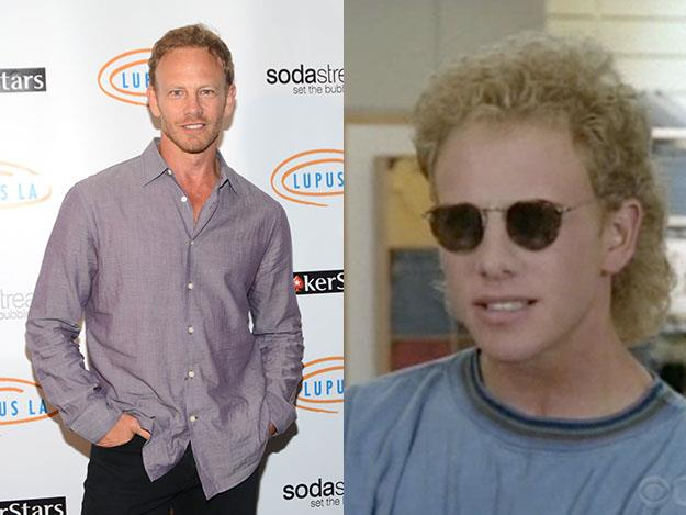 Ian Ziering was 26 years old when he posed as bratty teenager Steve Sanders in Beverly Hills 90210.