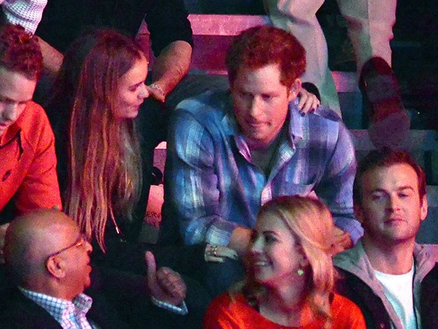 Cressida and Harry appeared at several events together.