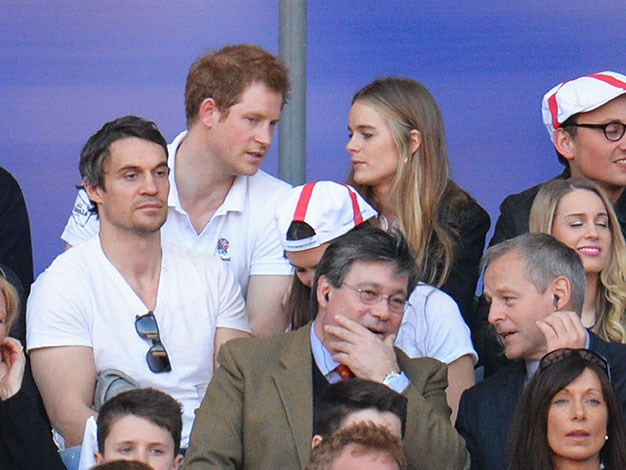 The couple ended things amicably, Harry even dropped by and saw his ex's play after their split.