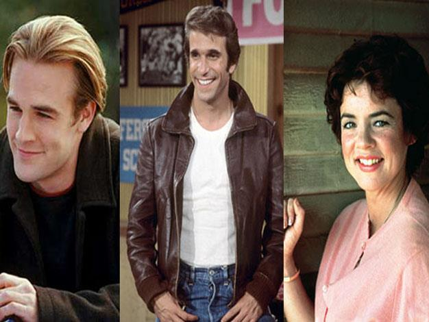 Dawson, Fonzie and Rizzo were all teenagers played by older actors.