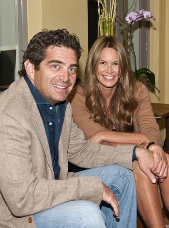 Model/mogul Elle Macpherson, 49, married her billionaire husband, Jeffery Soffer, 44, last year at a private ceremony in Fiji. The pair now split their time between London and Miami, where Jeff has a variety of business interests.