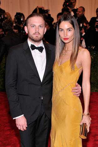 Kings of Leon front man, Caleb Followill, 33, is married to Victoria's Secret Angel Lily Aldridge, 28.