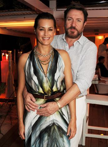The original Brit 'it girl', Yasmin Le Bon, 49, has been married to her rock star husband, Simon Le Bon, 55, for almost two decades. Simon, who is the lead singer of legendary band Duran Duran wed his model wife in 1985 and the long lasting couple have three children together.
