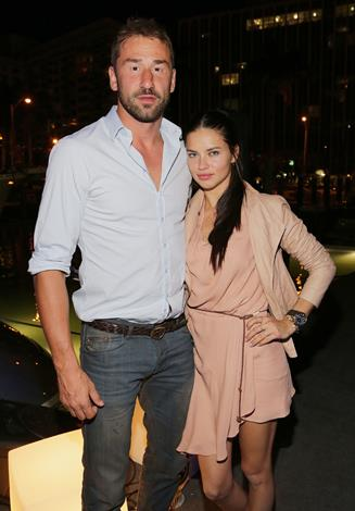 Brazilian beauty Adriana Lima, 32, has been married to Serbian basketball player, Marko Jaric, 35, since 2009 and the pair have two daughters together.