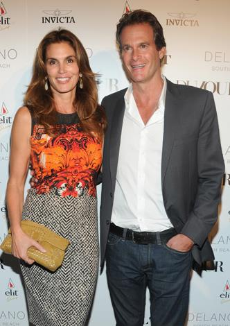 Cindy Crawford's hubby Rande Gerber, 51, was also a former model turned businessman who owns the Midnight Oil chain of bars and lounges with his brothers. Cindy, 48, who was previously married to Hollywood hunk, Richard Gere, wed Gerber in 1998 and the couple have two children.