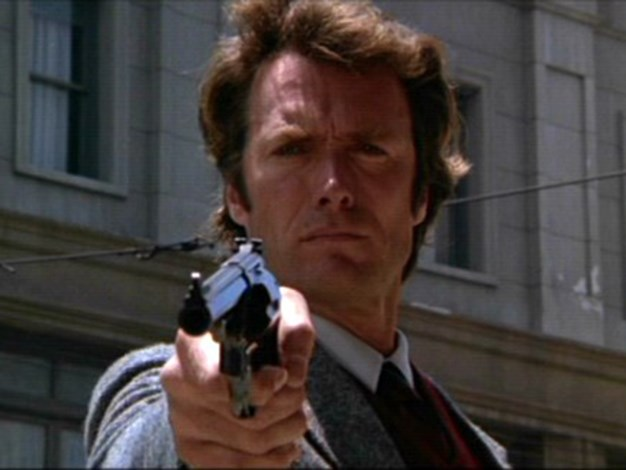 "Dirty Harry Misquote: ""Do you feel lucky, punk?"" Actual movie quote: ""You've got to ask yourself one question: 'Do I feel lucky?' Well, do ya punk?"""