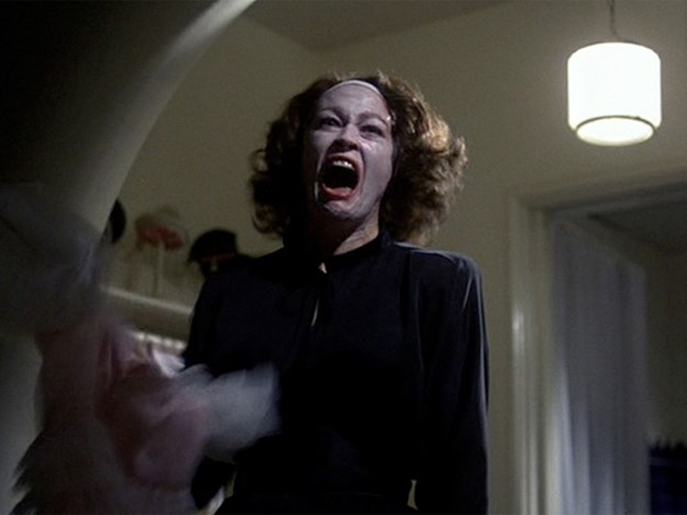 "Mommie Dearest Misquote: ""No more wire hangers, EVER!"" Actual movie quote: ""No wire hangers! No wire hangers EVER!"""