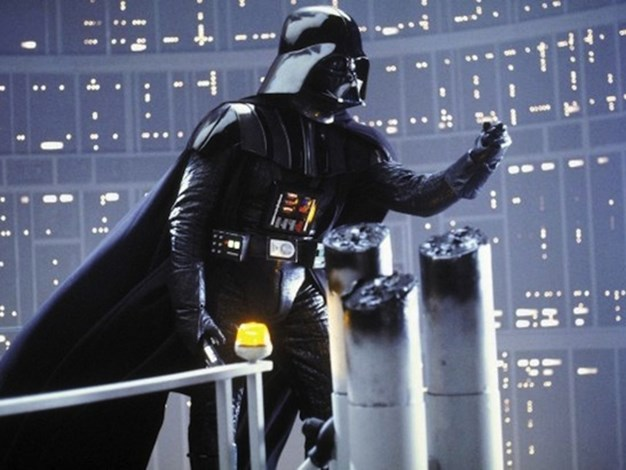 "The Empire Strikes Back Misquote: ""Luke, I am your father."" Actual movie quote: ""No. I am your father."""