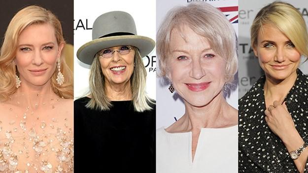Cate Blanchett, Diane Keaton, Helen Mirren, Cameron Diaz
