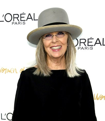 Diane Keaton, 68, has been the face of L'Oreal for years yet has said no to plastic surgery and in doing so Keaton has become the poster girl for women gracefully embracing their natural beauty.