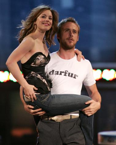 Ryan Gosling and Rachel McAdams made the world fall in love with their romance when they starred in 2004's The Notebook together. The pair dated for a few years after the movie but they called cut on their relationship to the dismay of romantics everywhere.
