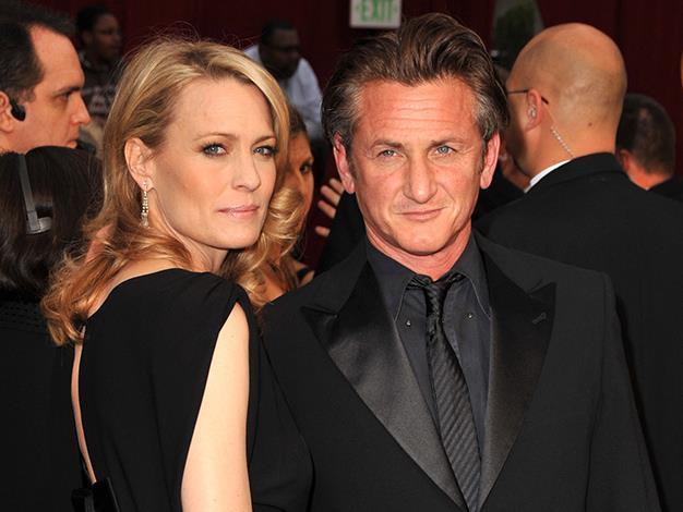 After nearly 20 years together actors Sean Penn and Robin Wright officially called time on their relationship in 2010.