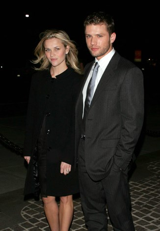 Reese Witherspoon met Ryan Phillippe on her 21st birthday day and bragged he was her birthday present. The pair wed in 1999 and had two children, though the marriage went sour after seven years due to rumours of infidelity on Ryan's part.