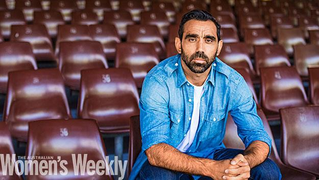 Adam Goodes. Photography by Tim Bauer. Styling by Judith Cook.