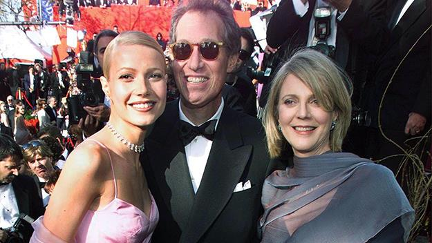 Gwyneth Paltrow and her parents