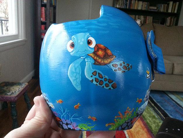 A Finding Nemo inspired design.