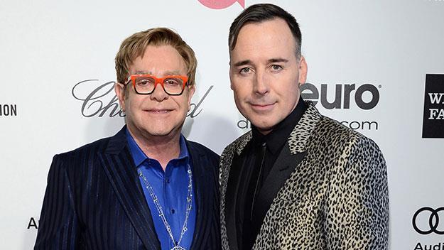 Sir Elton John and David Furnish.