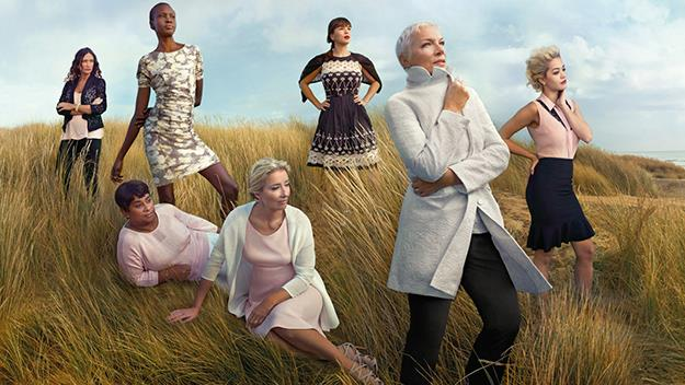 Iconic leading ladies line up for British retailer Marks and Spencer campaign