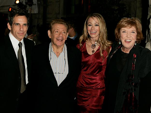 Ben Stiller may just have funny genes. The Zoolander actor is the son of comedians Anne Meara and Seinfeld's Jerry Stiller. Ben's wife, Christine Taylor is also an actress and comedian and has featured in several movies with the actor.