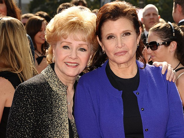 Child actress Carrie Fisher is the daughter of screen legend Debbie Reynolds and American entertainer Eddie Fisher.