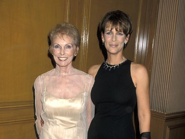 Actress Jamie Lee Curtis is the daughter of actor Tony Curtis - who played opposite Marilyn Monroe in Some Like It Hot - and Psycho actress Janet Leigh.