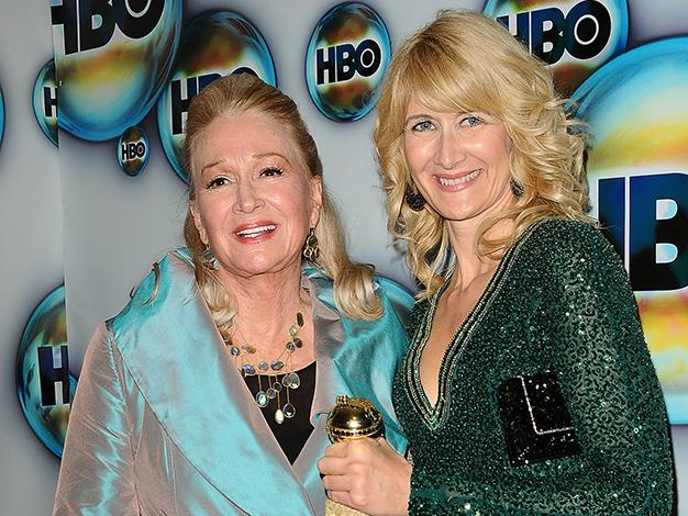 It's not so surprising that Laura Dern grew up to become an actress. She spent her childhood hanging out on movie set while her mother, actress Diane Ladd, had roles in classics such as Alice Doesn't Live Here Anymore and Chinatown.