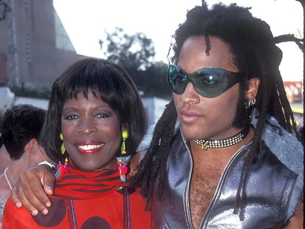 """It's a little known fact that Lenny Kravitz's mother, Roxie Roker, was the actress who played Helen Willis on CBS American sitcom, """"The Jeffersons""""."""
