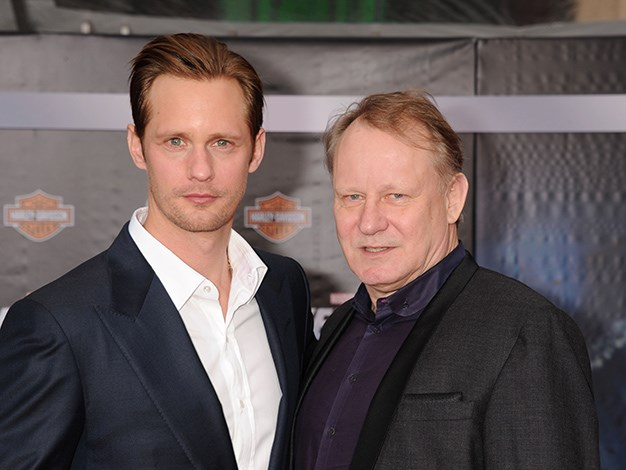 Swedish hunk Alexander Skarsgard gets acting chops from his father, Stellan Skarsgard, who's been starring in blockbuster hits like Good Will Hunting, Pirates of the Caribbean, and Thor.