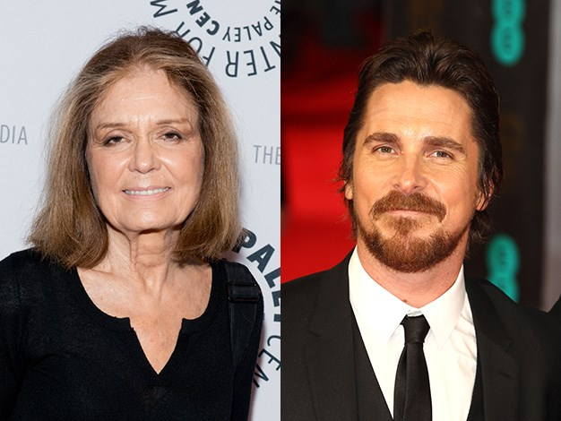 Christian Bale has an interesting parent that few people know about. His stepmother is women's liberation feminist and political activist Gloria Steinem.
