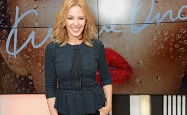 Kylie Minogue is happily single