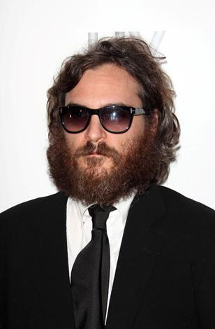 Joaquin Phoenix may have misunderstood the plot when he hid his face behind this giant bearded bush for his 2010 film titled 'I'm still here.'
