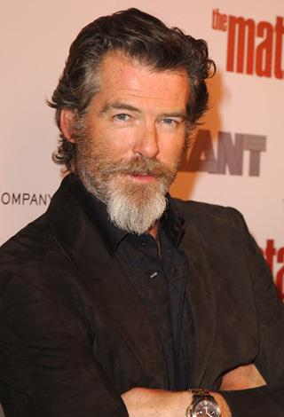Let's hope Pierce Brosnan grew this to get in character for his upcoming role as a lumber jack. We actually don't care as long as he doesn't make a Mamma Mia sequel.
