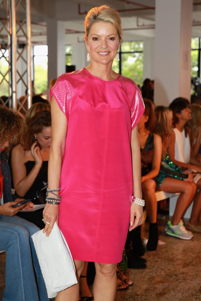 Television presenter, Sandra Sully at the Ginger & Smart show.