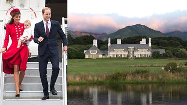 Prince William and Kate Middleton's luxury New Zealand retreat