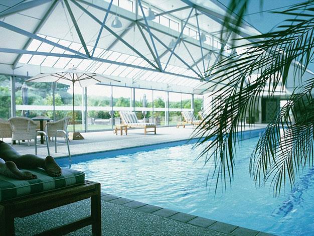 The resort's pool.