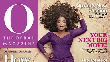 Oprah Winfrey poses for sexy cover at 60