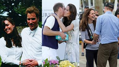 Prince William and Kate Middleton's adorable PDA