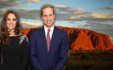 Inside Prince William and Kate Middleton's Uluru tent